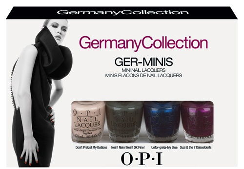 OPI Ger-Mini Pack 4 x 3,75ml