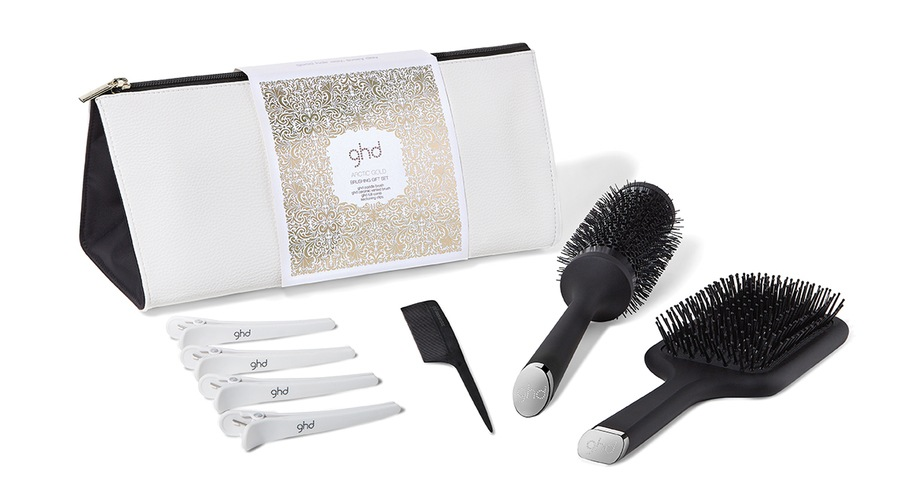 Ghd Arctic Gold Brushing Gift Set