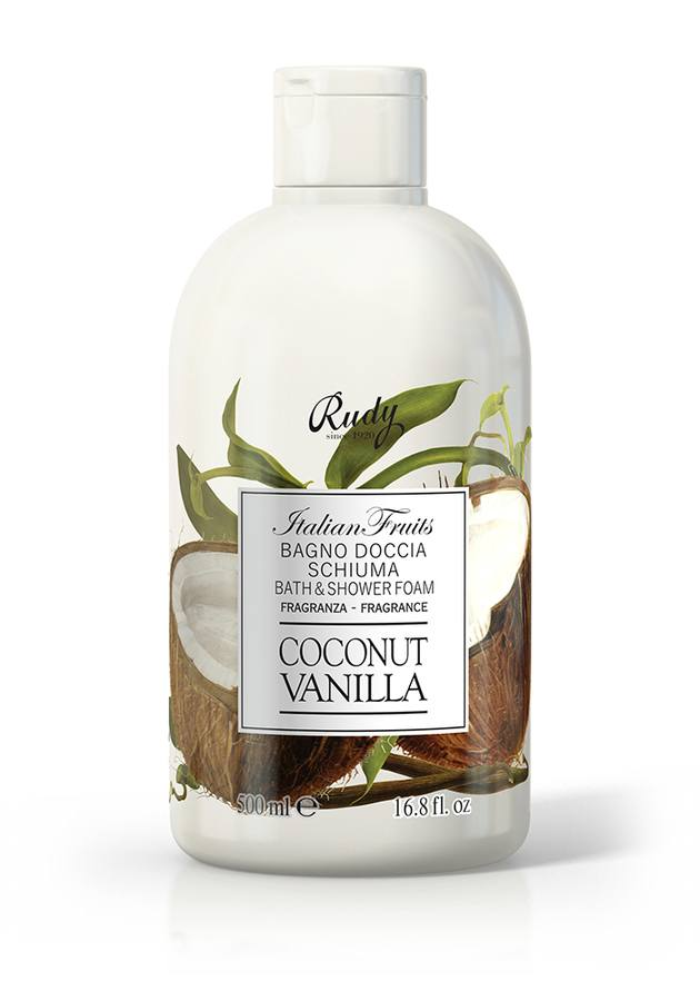 Italian Fruits Bath & Shower Gel Coconut &Vanilla 500ml
