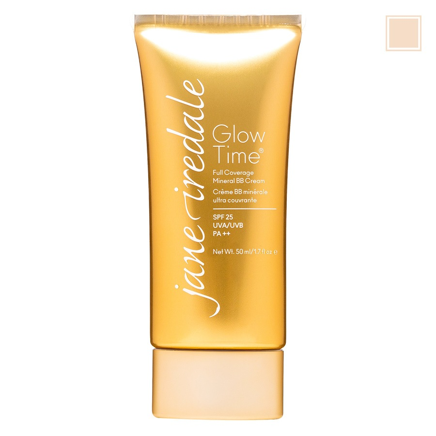Jane Iredale Glow Time Full Coverage Mineral BB Cream Light BB3 50ml