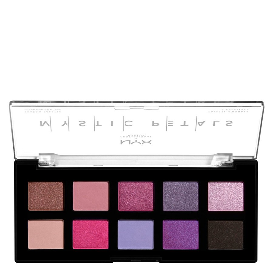 NYX Professional Makeup Mystic Petals Shadow Palette Midnight Orchid 10x0,8g