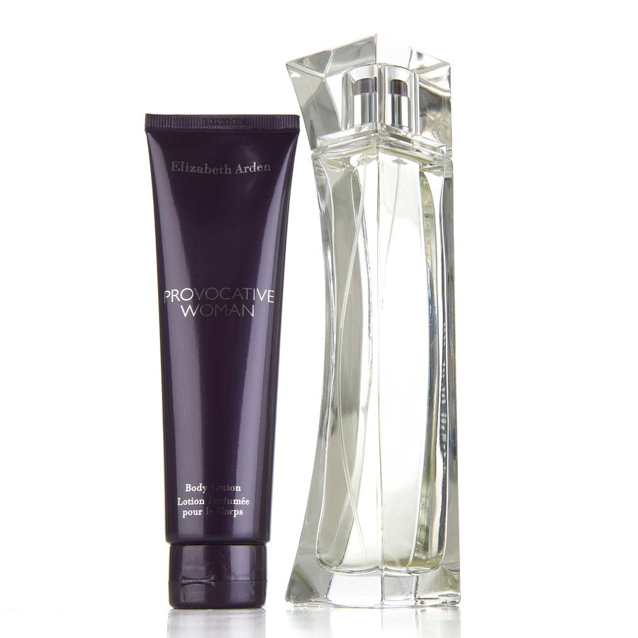 Elizabeth Arden Provocative Woman Eau De Parfum 100ml Og Body Lotion 100ml Gavesett Til Henne