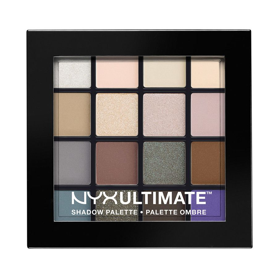 NYX Ultimate Eyeshadow Palette Cool Neutrals USP02