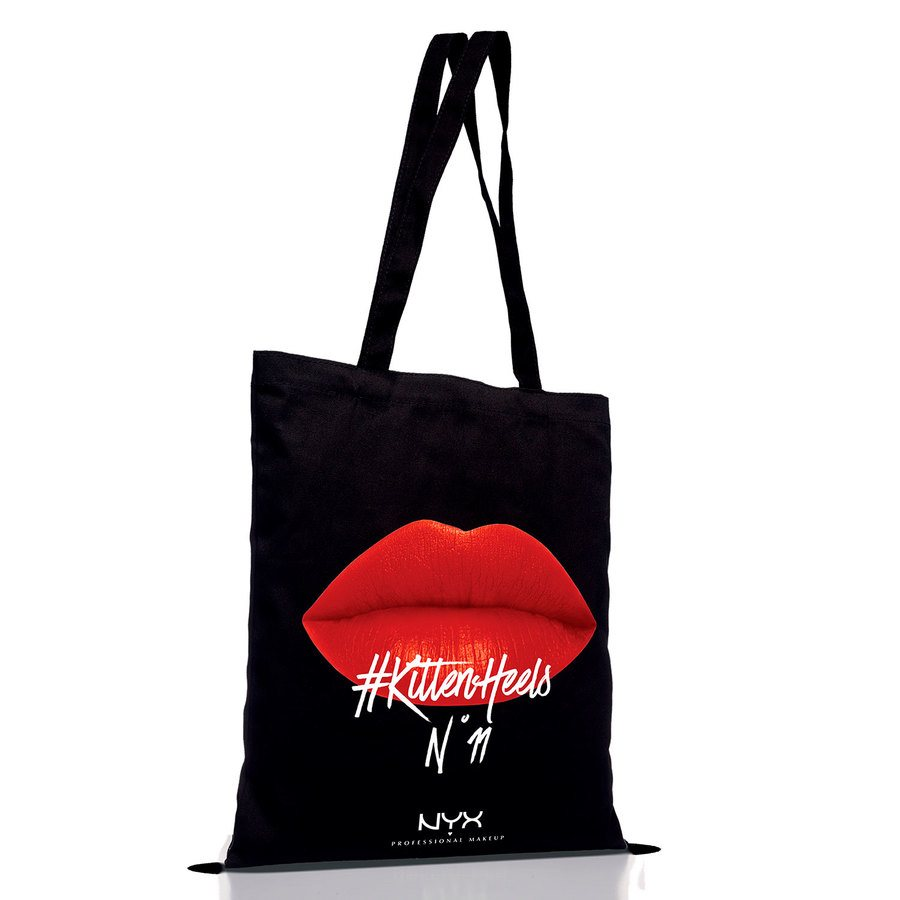 NYX Professional Makeup Tote Bags GWP Red
