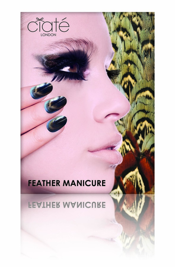 Ciatè Feather Manicure Ruffle My Feathers