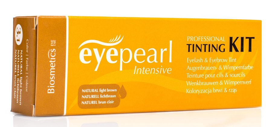Intensive Vippe & Brynsfarge Naturell Kit