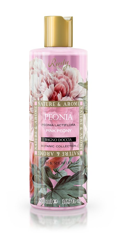 Nature & Arome Bath & Shower Gel Pink Peony 500ml