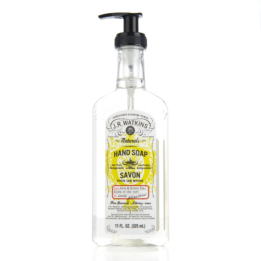 JR Watkins Liquid Hand Soap Aloe & Green Tea