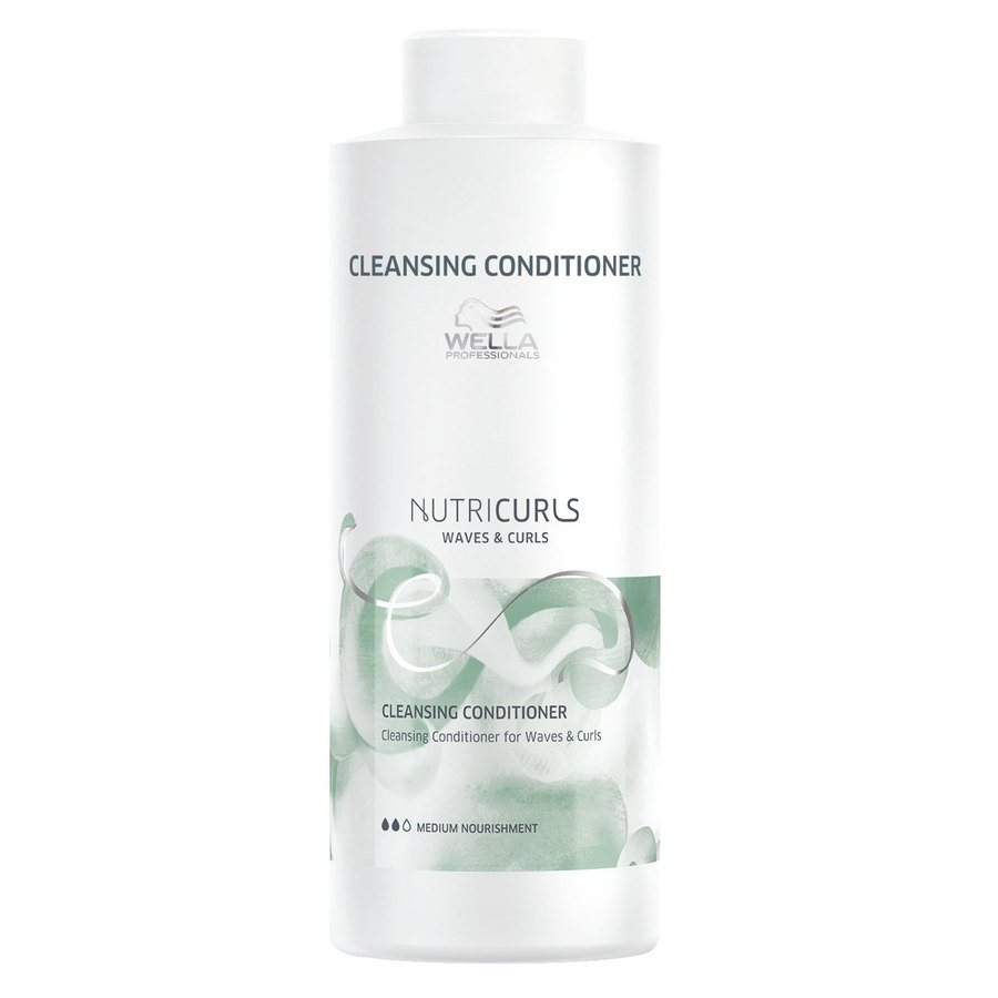 Wella Professionals Nutricurls Cleansing Conditioner For Waves & Curls 1000ml