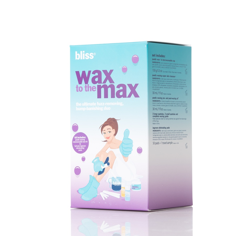 Bliss Wax To The Max Hair Removal Poetic Waxing Kit