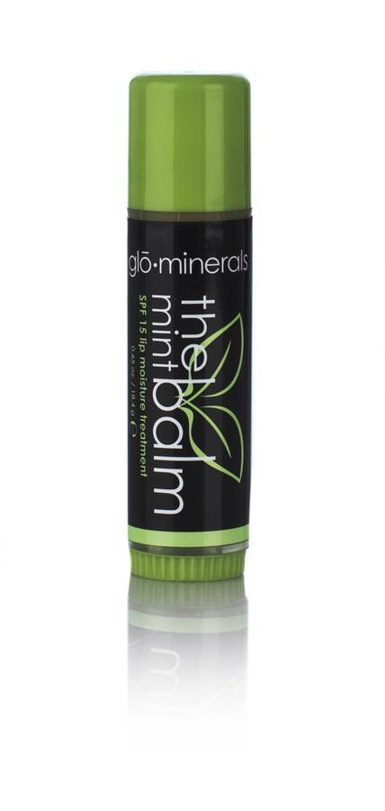 glóMinerals The Mint Balm SPF 15 Lip Moisture Treatment 18,4g