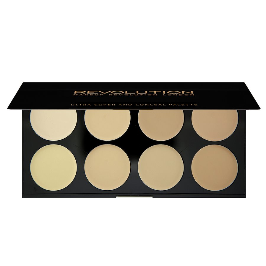 Makeup Revolution Ultra Cover and Concealer Palette Light 10g