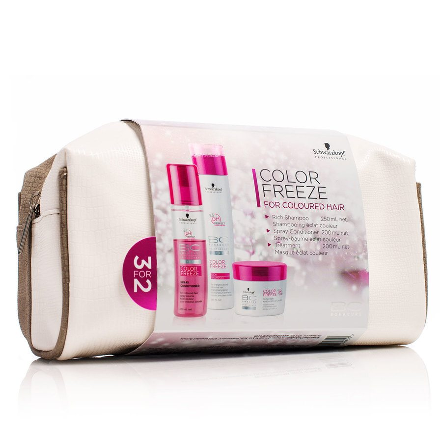 Schwarzkopf BC Bonacure Color Freeze Gavesett 3 Deler