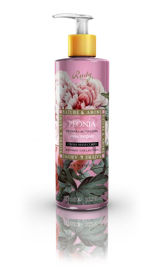 Nature & Arome Hand & Bodylotion Pink Peony 500ml