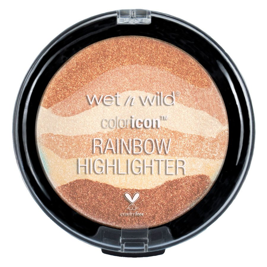 Wet`n Wild Color Icon Rainbow Highlighter Bronze Over The Rainbow