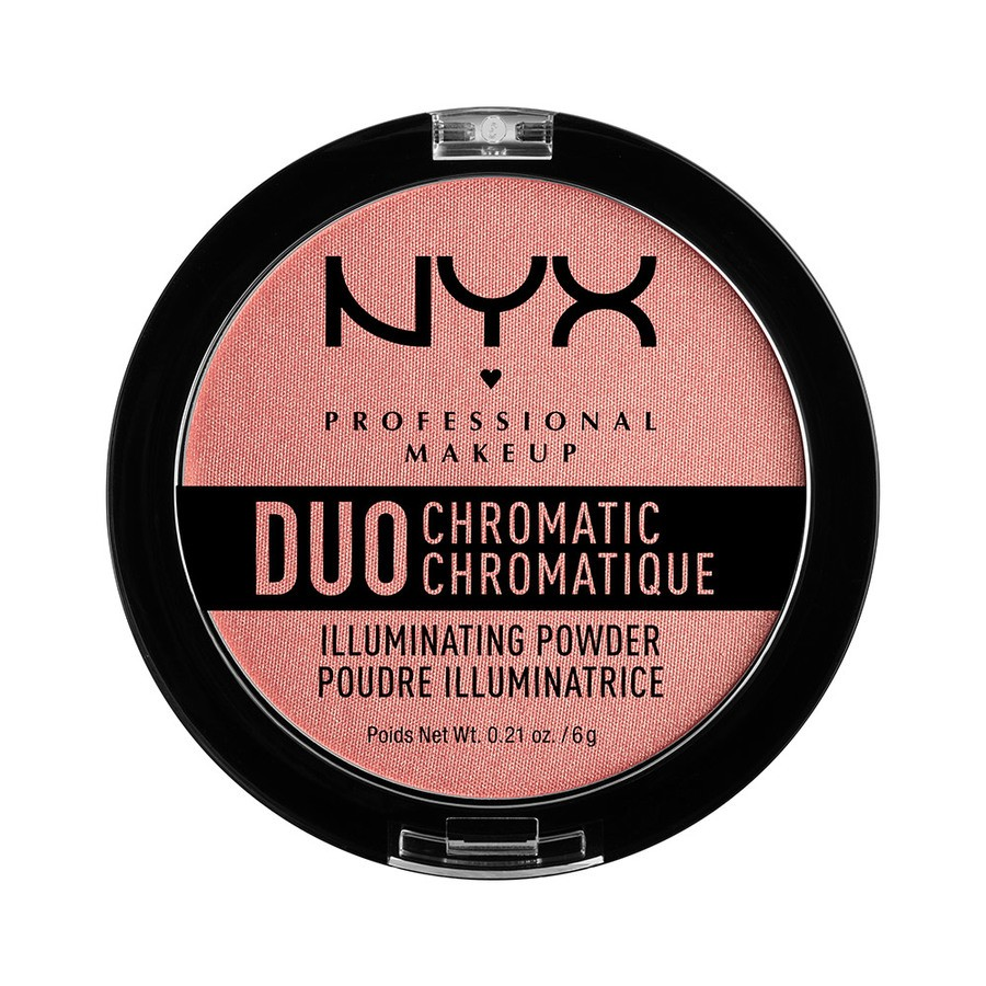 NYX Prof. Makeup Duo Chromatic Illuminating Powder Crushed Bloom DCIP03