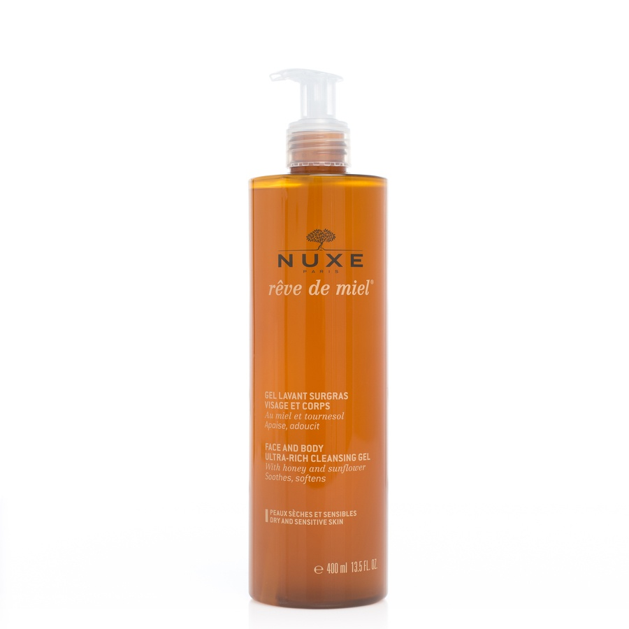 Nuxe Face And Body Ultra Rich Cleansing Gel 400ml