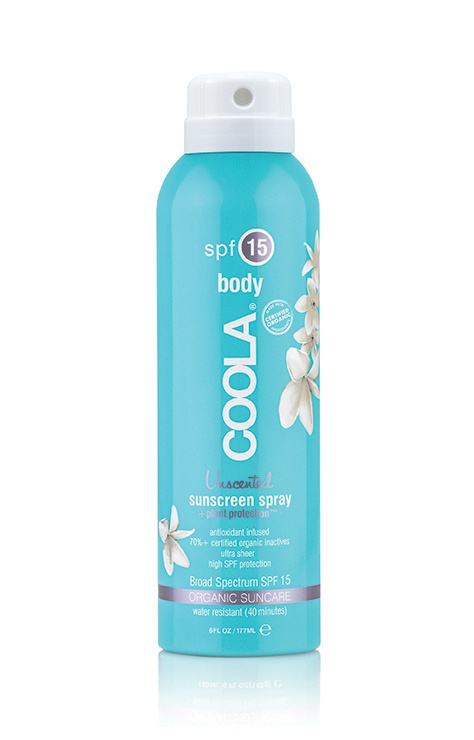 Coola Sport Continuous Spray SPF 15 Unscented 180ml