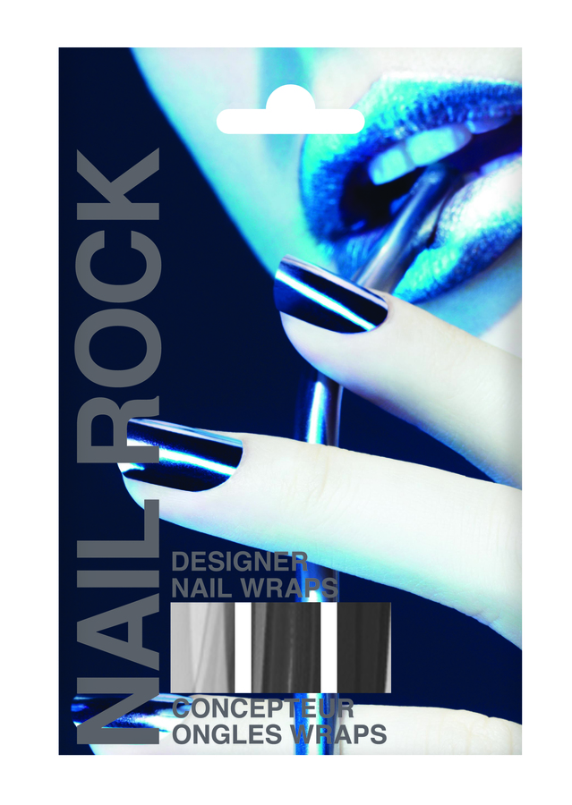 Rock Beauty Nail Rock Metallic Silver