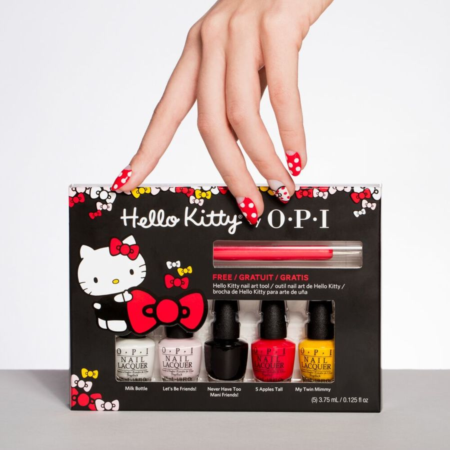 OPI- Hello Kitty Collection  Mini 5-Pack 5 x 3,75ml