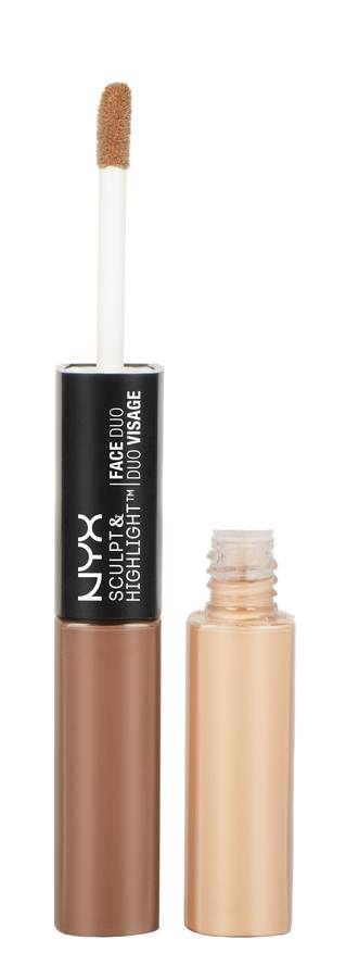 NYX Sculpt & Highlight Face Duo Caramel/Vanilla