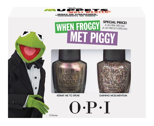 OPI Muppets Most Wanted Collection When Froggy Met Piggy 2 x 15ml