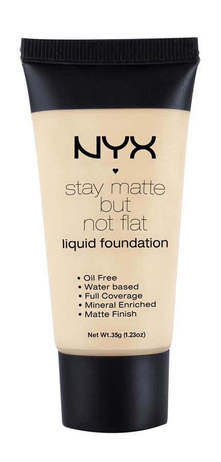 NYX Stay Matte But Not Flat Liquid Foundation Creamy Natural SMF04