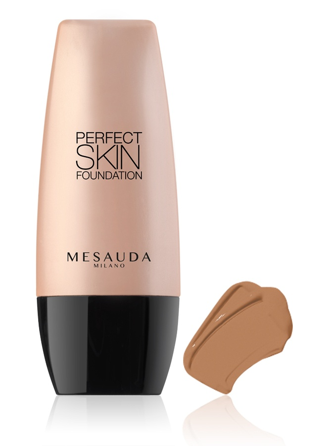 Mesauda Milano Perfect Skin Foundation 104 Medium Tan 30ml