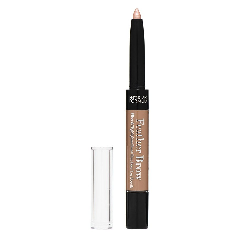 Physicians Formula Eye Booster Lash Feather Brow Fiber & Highlighter Duo Light Brown