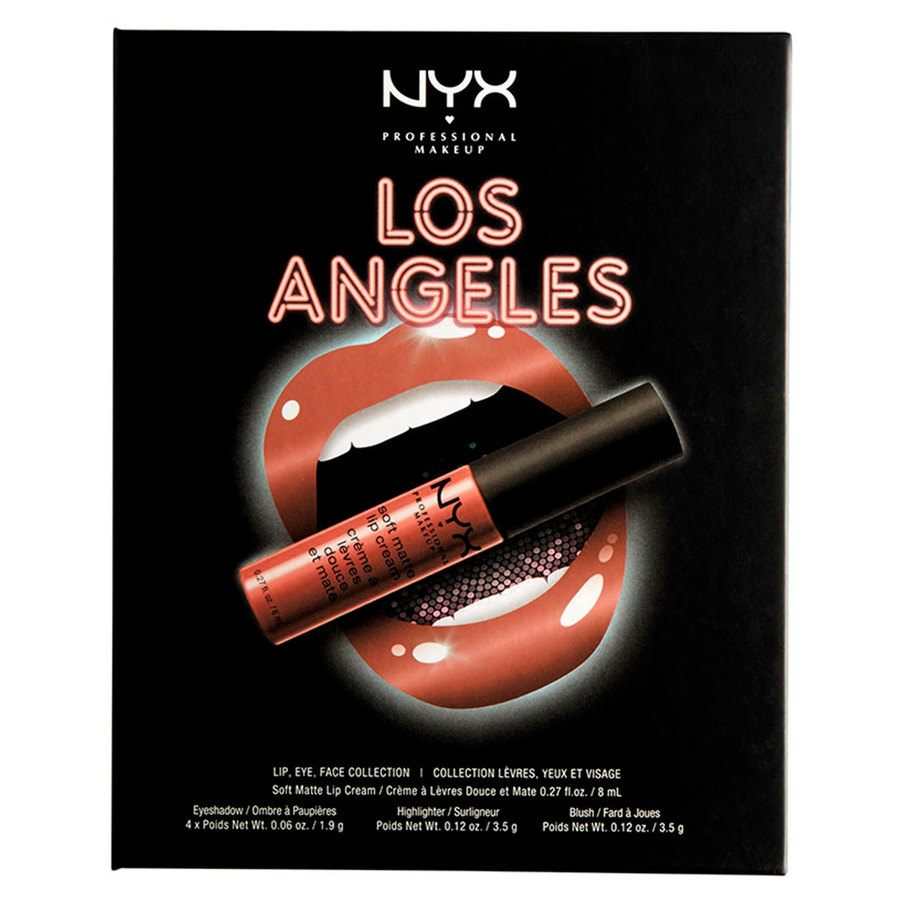 NYX Professional Makeup City Set Los Angeles