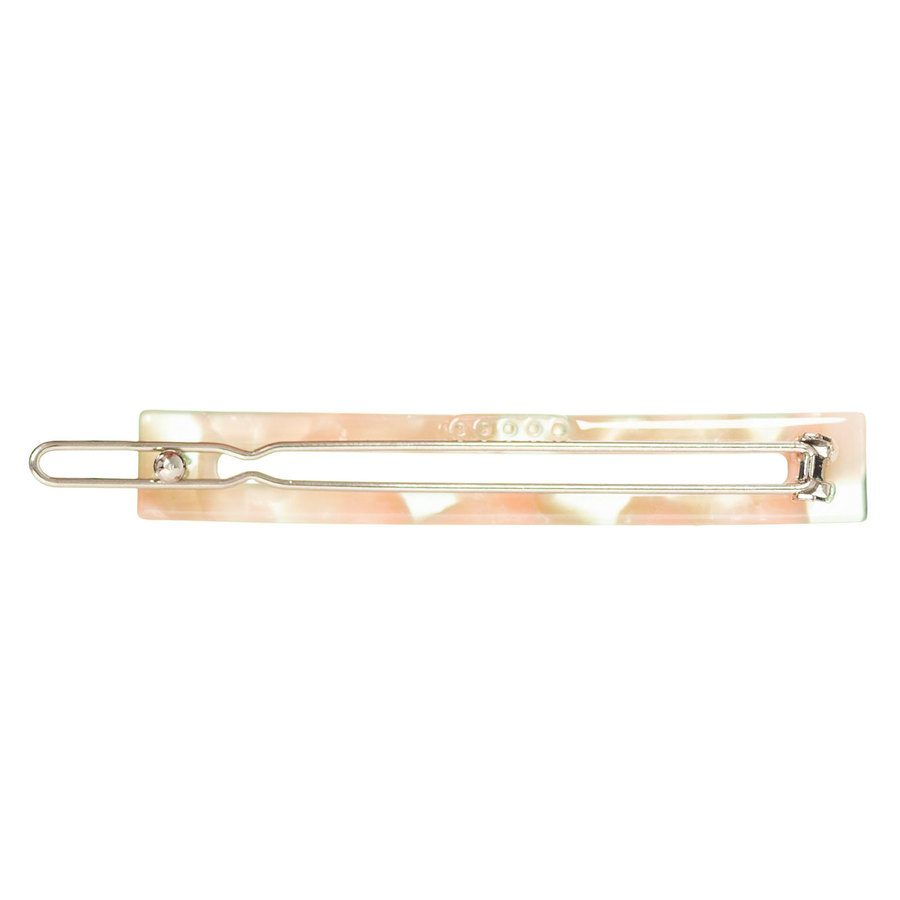 Just D`Lux Hairclip Square Slim Rose