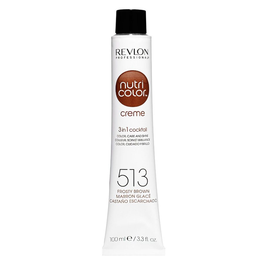 Revlon Professional Nutri Color Creme 100ml #513 Frosty Brown