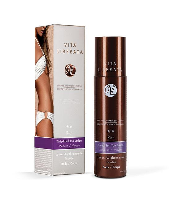 Vita Liberata Rich Tinted Self Tan Lotion Body Medium 200ml