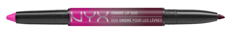 NYX Ombre Lip Duo Lipstick & Lipliner Old11 Hollywood & Wine
