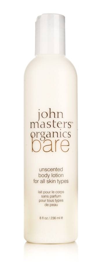 John Masters Organics Bare Unscented Body Lotion for All Skin Types 236ml