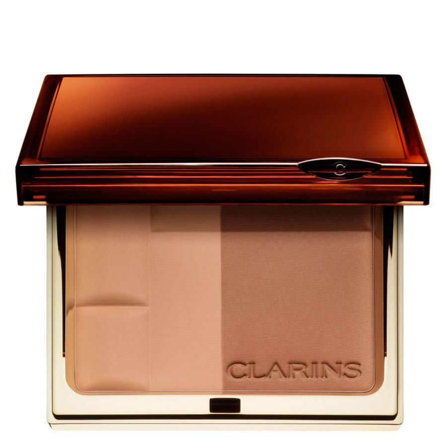 Clarins Bronzing Duo SPF15 Mineral Powder Compact #02 Medium 10g