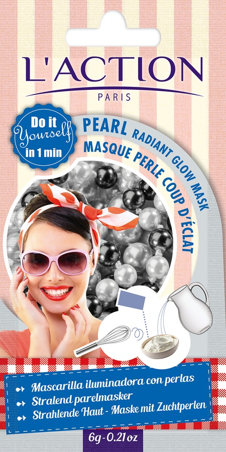 L'Action Paris Pearl Radiant Glow Mask 10g