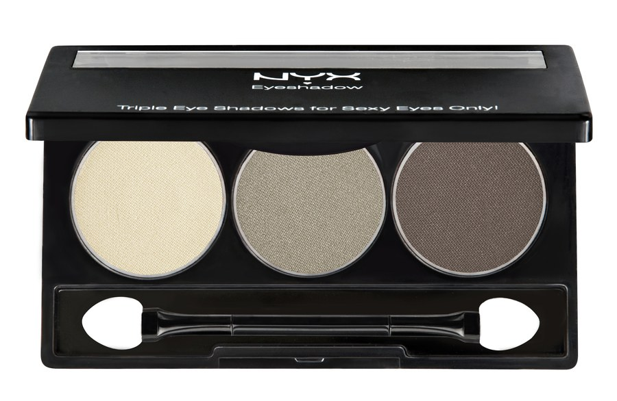 NYX Trio Shadow Nude/Taupe/Dark Brown TS03