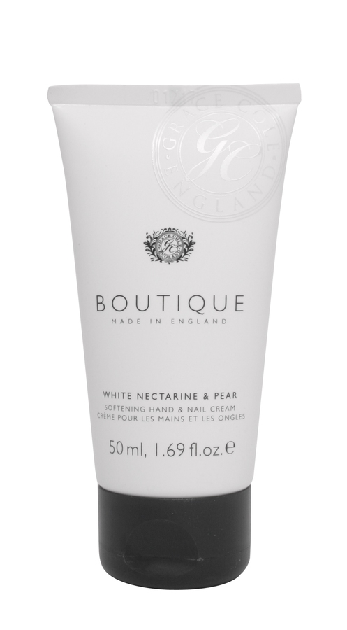 Grace Cole The Boutique Hand & Nail Cream White Necatarine & Pear 50ml