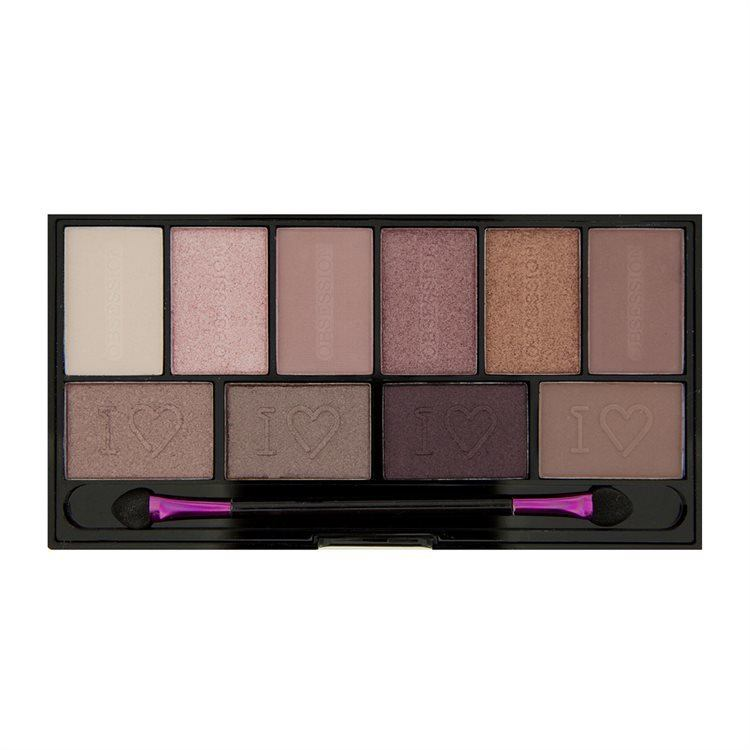 I Heart Revolution Obsession Palette-Pure Cult 17g