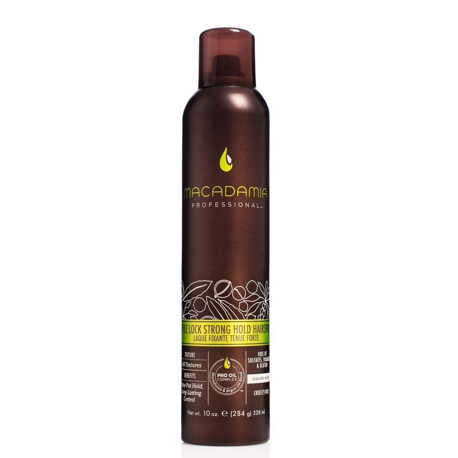 Macadamia Natural Oil Style Lock Firm Hold Hairspray 328ml
