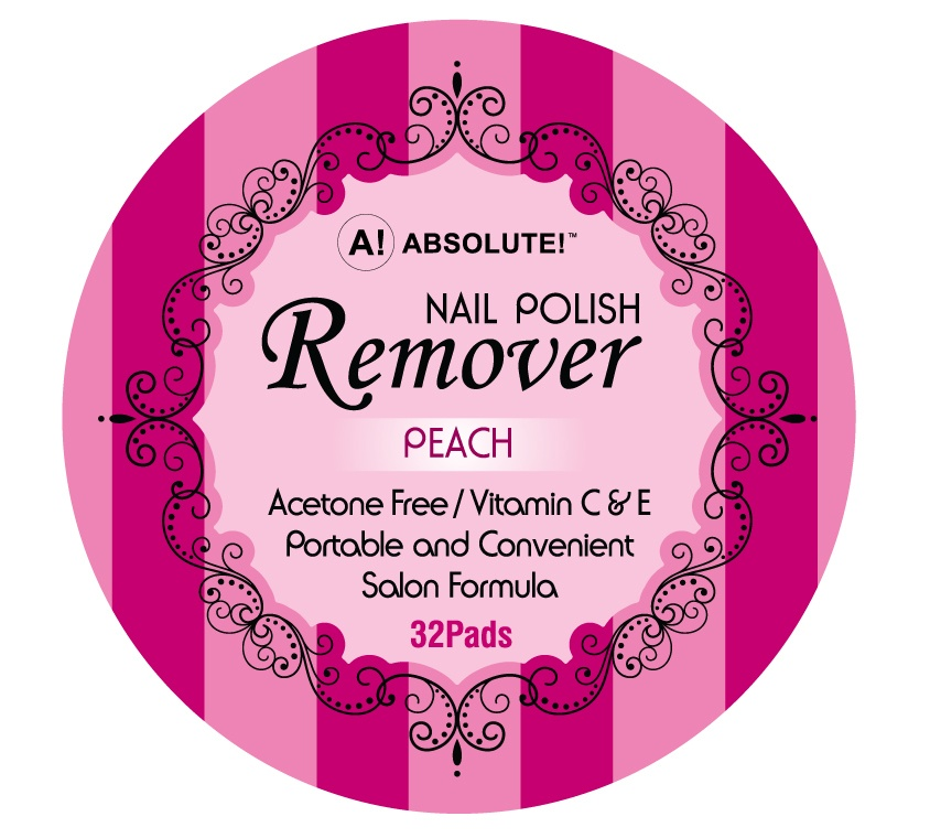 Nicka K New York Absolute! Nail Polish Remover Peach
