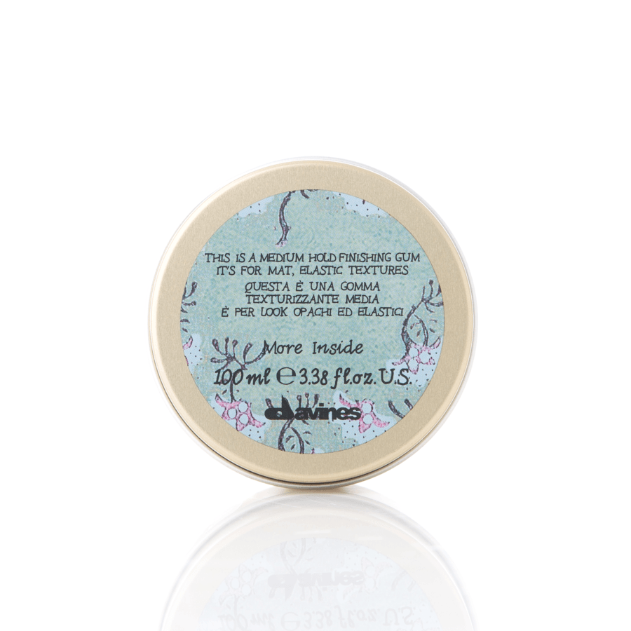Davines More Inside This Is A Medium Hold Finishing Gum 100ml