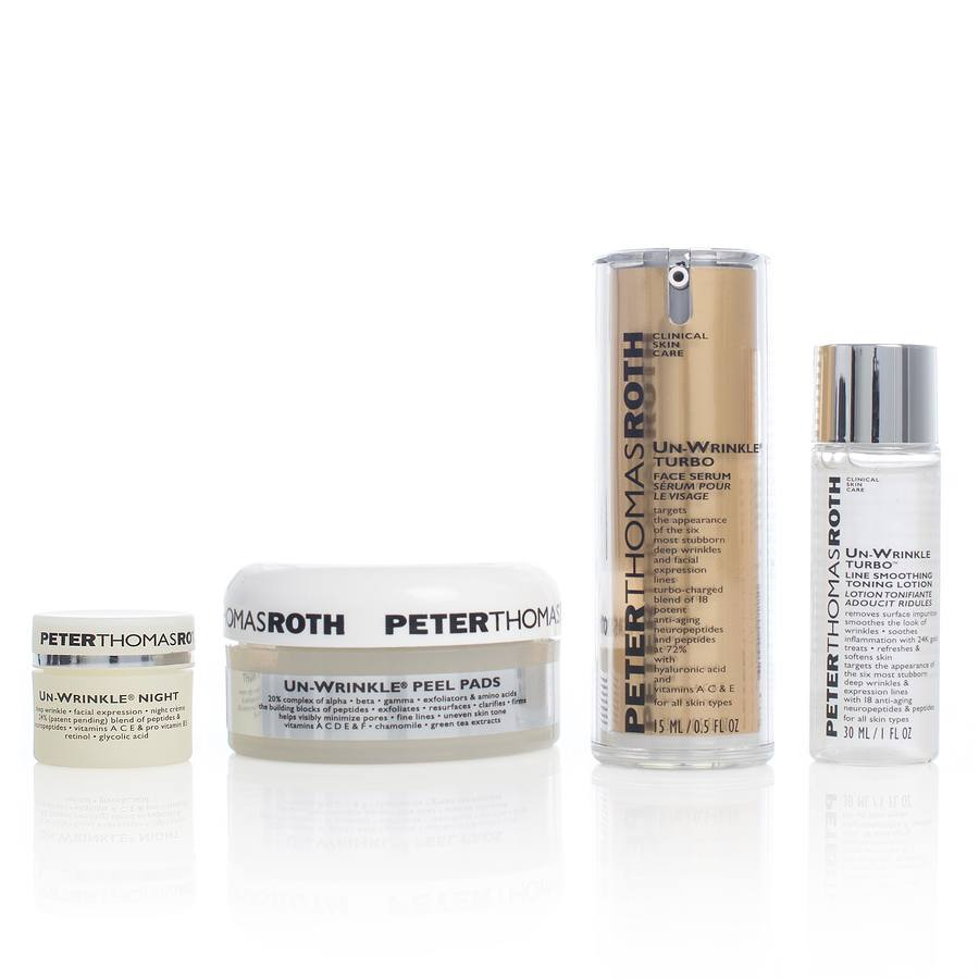 Peter Thomas Roth Un-Wrinkle Kit 4 Deler