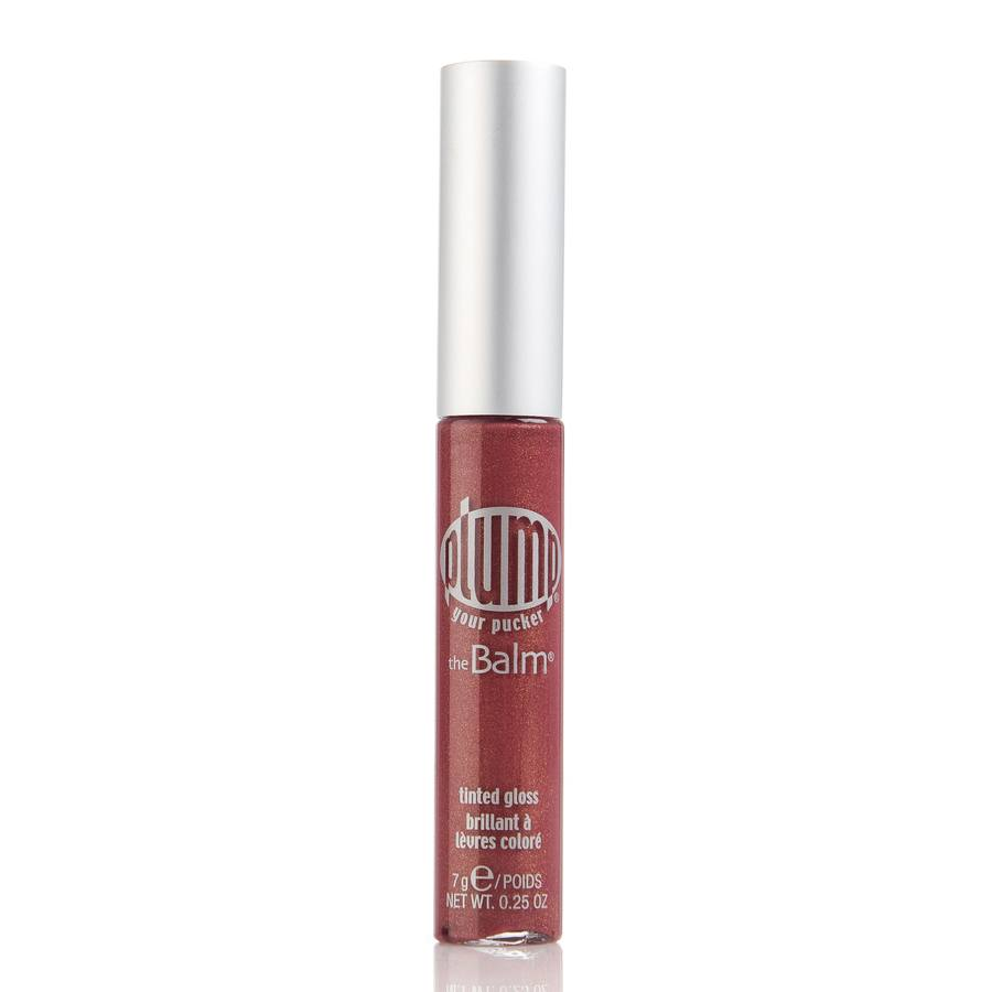 The Balm Plump Your Pucker Tinted Lip Gloss Cherry My Cola