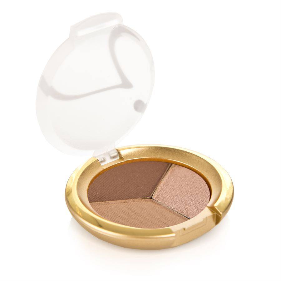 Jane Iredale PurePressed Triple Eye Shadow Triple Cognac 2,8g