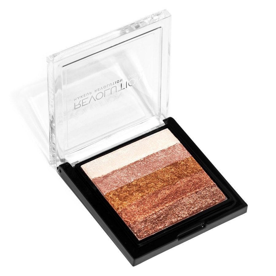 Makeup Revolution Vivid Shimmer Brick Rose Gold 7g