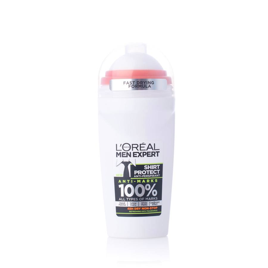 L'Oréal Paris Shirt Protect Anti-Marks Long Lasting Fresh Green Deo-Roll-On 50ml