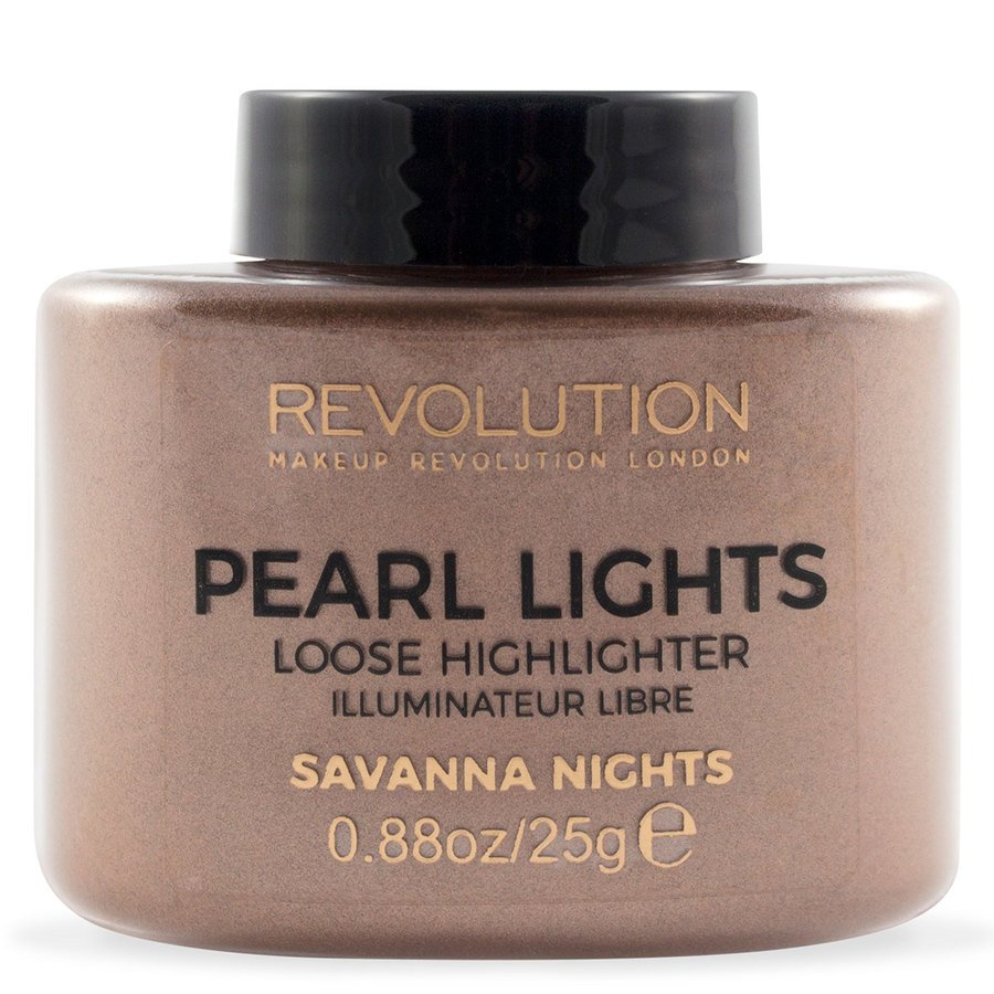 Makeup Revolution Pearl Lights Loose Highlighter Savana Nights 25g