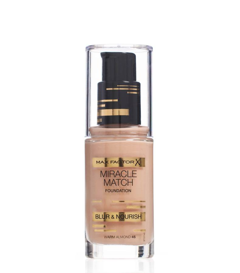 Max Factor Miracle Match Foundation Warm Almond 045